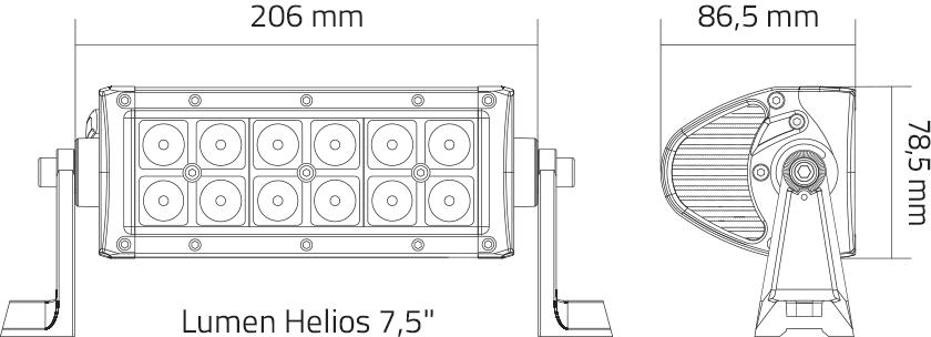 lumen helios størrelse diagram
