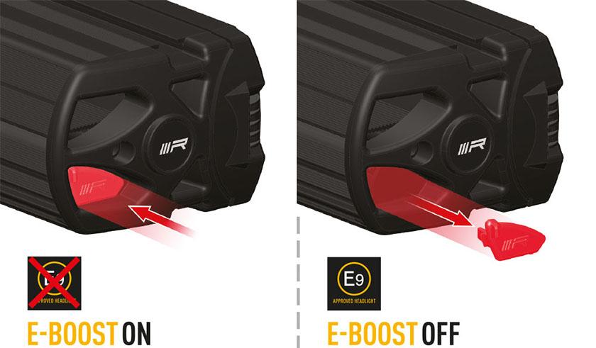Lazer E-boost forklaring